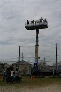 ①「スカイタワー」高いところから楽田の町を一望
