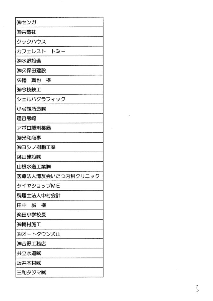 協賛芳名-5